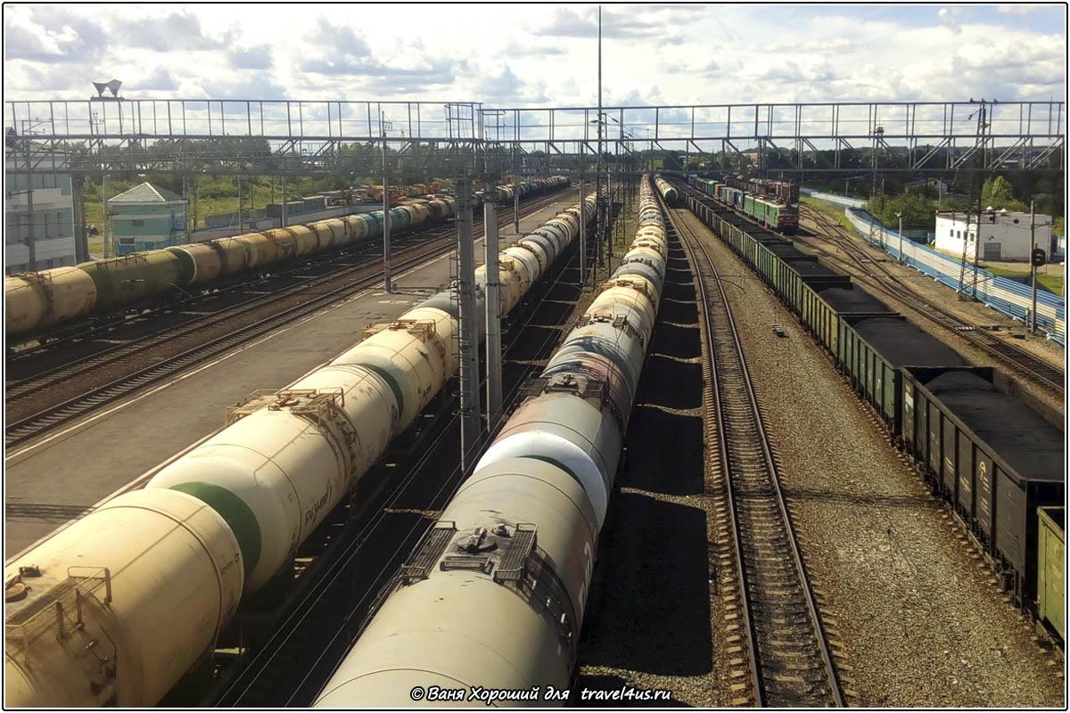 Железная дорога в Анжеро-Судженске