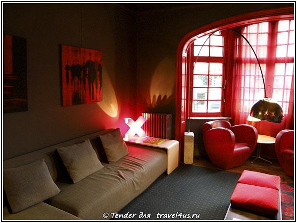 Первый дизайнерский отель в Брюсселе