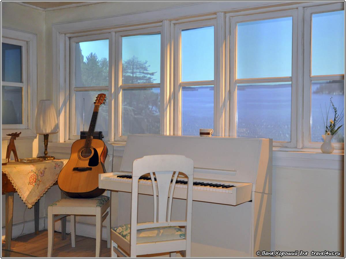 Загородный домик ABBA