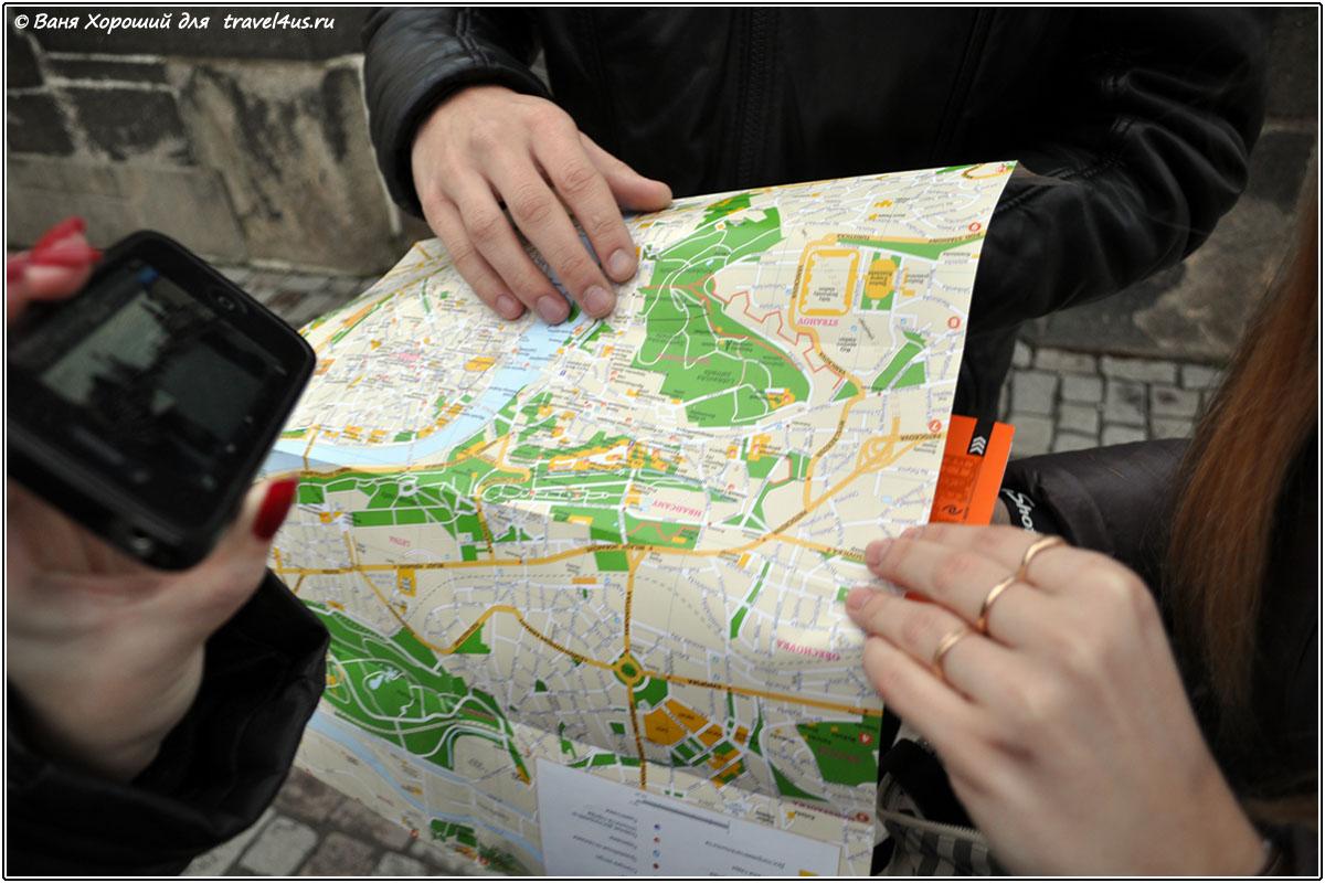Как сохранить карту в Google Maps?